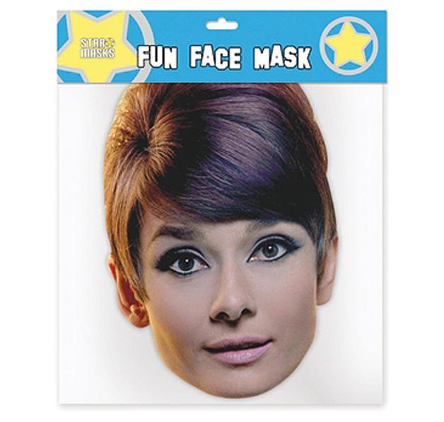 Masque de d guisement audrey hepburn objets d co - Deguisement audrey hepburn ...