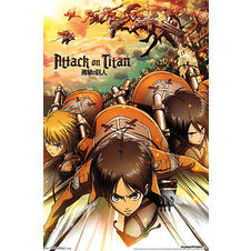 Poster Attack On Titans