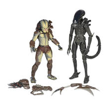Set de 2 Figurines d'action Alien vs Predator