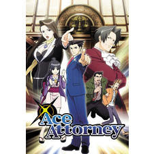 Poster Ace Attorney -