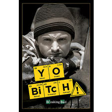 Poster Breaking Bad Yo Bitch!