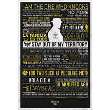 Poster Breaking Bad Citations