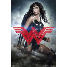 "Poster Batman vs Superman ""Wonder Woman"""