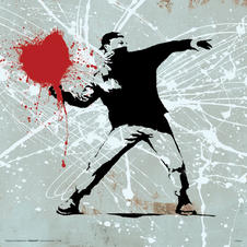 Impression d'art Bansky