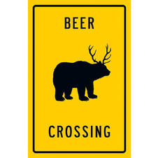 Poster Beer Crossing