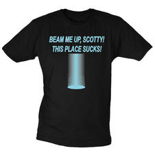 T-Shirt - Beam Me Up, Scotty!