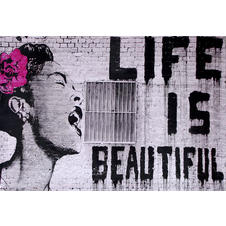 Poster Banksy - Billie Holiday/