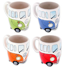 Ensemble de tasses Camper Bus