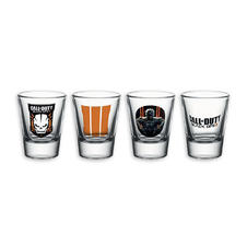 Set de 4 verres à liqueur Call of Duty