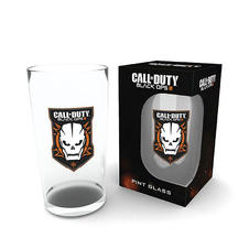 Verre demi-litre Call of Duty Black OPS III