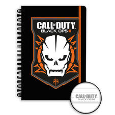 Calepin DIN A5 Call of Duty - Black Ops III