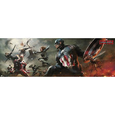 Poster Marvel Captain America - Civil War