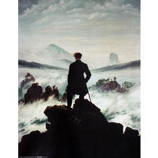 Impression d'art C. D. Friedrich -