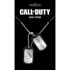 Dog Tag Call of Duty -