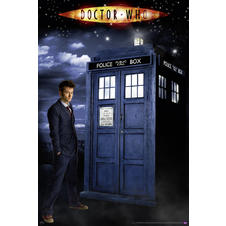 Poster fosforescent de Doctor Who