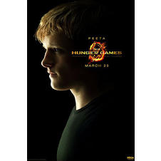 Affiche Hunger Games :