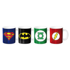 Ensemble de tasses à Expresso DC Comics