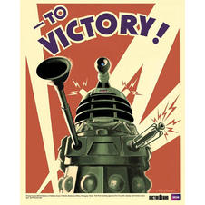 Poster Doctor Who Dalek
