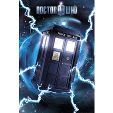 Poster Doctor Who Tardis