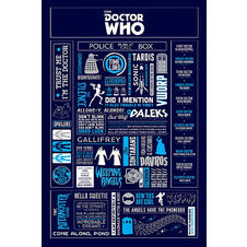 "Poster Doctor Who ""Infographic"""
