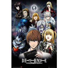 "Poster Death Note ""Collage"""
