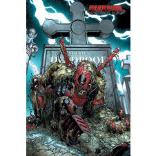 "Poster Marvel Comics Deadpool ""Grave"""