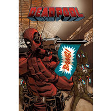 "Poster Marvel Comics Deadpool ""Bang"""