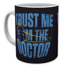 "Tasse Doctor Who ""Trust Me I'm The Doctor"""