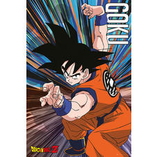 "Poster Dragon Ball Z ""Goku"""