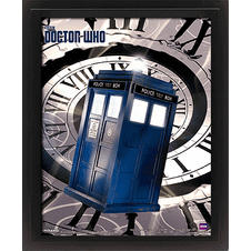 "3D Poster Doctor Who ""Tardis"""