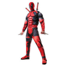 Costume/ Jumpsuit Deluxe avec masque Deadpool