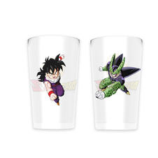 Set de 2 Verres moyens Dragon Ball Z -