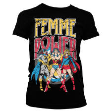 T-Shirt Girlie DC Comics -