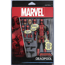 Deadpool Poster d´une Figurine d'action