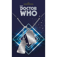 Dog Tag Doctor Who -