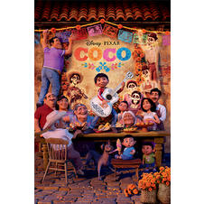Poster Disney Coco - Famille