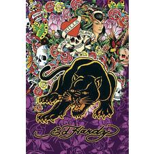 ED HARDY POSTER PANTHER, Affiche