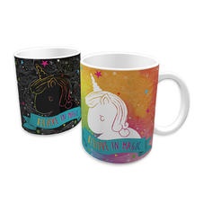 Tasse thermosensible Licorne