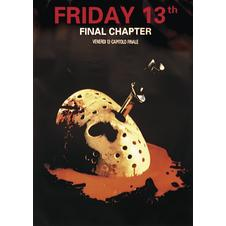 FRIDAY THE 13TH, Poster, Affiche
