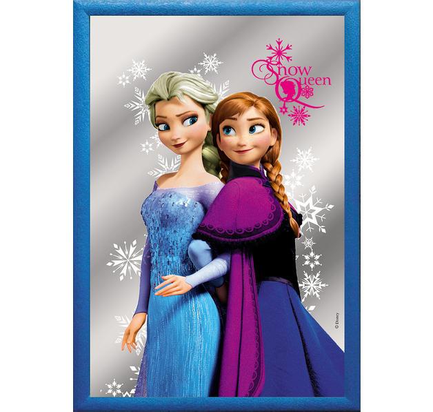 miroir la reine des neiges elsa et anna miroirs commandez d s maintenant close up. Black Bedroom Furniture Sets. Home Design Ideas