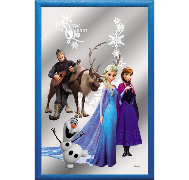 Miroir la reine des neiges les personnages en vente sur - La reine des neiges personnage ...