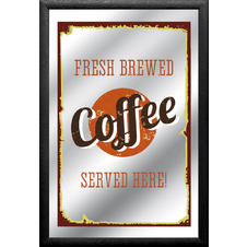 "Miroir ""Fresh Brewed Coffee"""