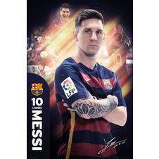 Poster FC Barcelone