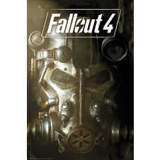 "Poster Fallout 4 ""Masque"""
