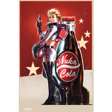 "Poster Fallout 4 ""Nuka Cola girl"""