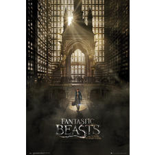 Poster Fantastic Beast and Where to find them -