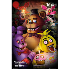 Poster Five Night's at Freddy's -
