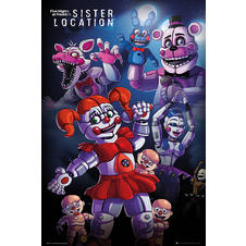 Poster Five Nights at Freddy's -