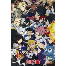 Poster Fairy Tail -