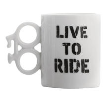 "Tasse Vélo ""LIVE TO RIDE"""